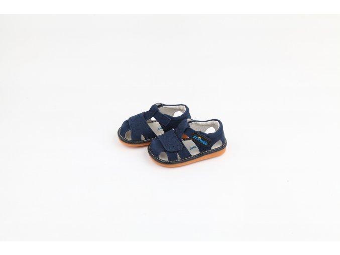 6265NV 1 Tmavomodre sandale Freycoo