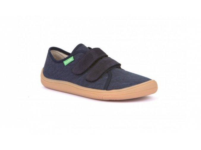 Plátenky Dark Blue Barefoot Froddo G1700270 2 Dupidup