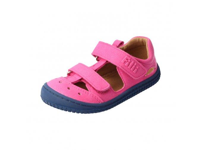 V3012 6 Sandále Kaiiman Vegan textil Pink Filii Dupidup 7