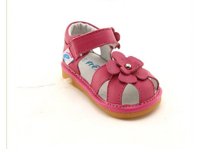 Ružové sandálky Kvietok - Freycoo