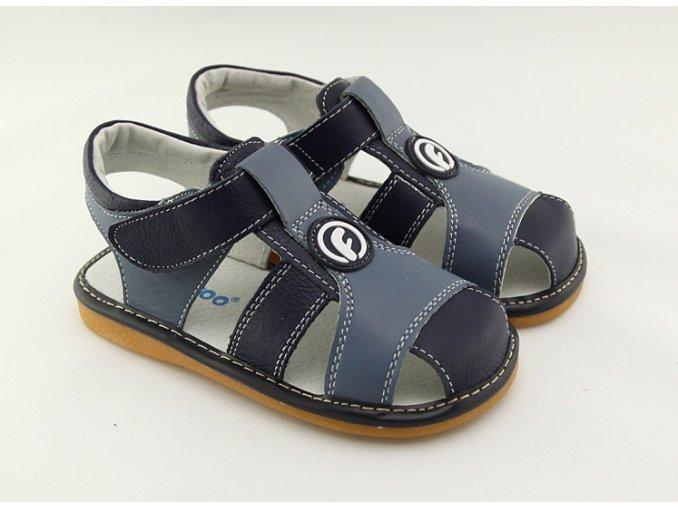 Modré sandálky - Freycoo