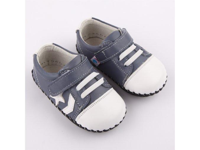 Topánočky - sivá - Freycoo