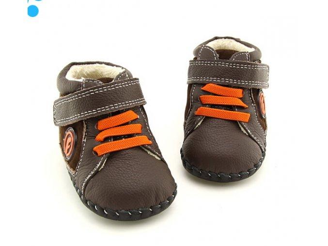 Topánočky - hnedá - Freycoo