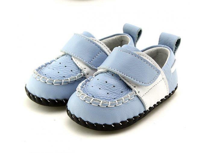 Topánočky - modrá - Freycoo