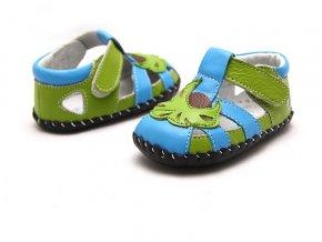 Zeleno-modré sandálky - Freycoo