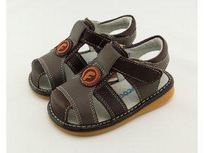 Hnedé sandálky - Freycoo