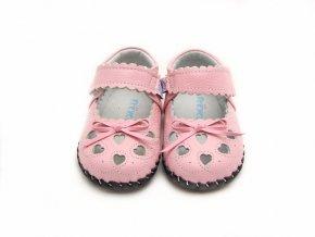 Topánky Srdiečka - ružová - Freycoo