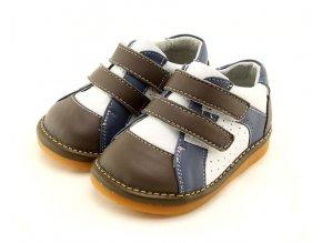 Sivo-hnedé topánky - Freycoo