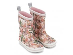 Bundgaard Classic Rubber Boots Rose Flamingo