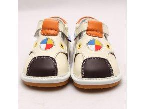 Krémové topánky - Freycoo