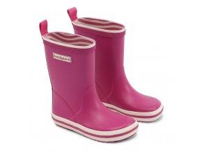 Bundgaard Classic Rubber Boots Lace Raspberry 1 Dupidup