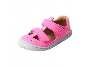 V32012 6 Sandále Kaiiman Vegan textil Pink Filii Dupidup 7