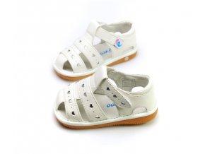 Biele sandálky - Freycoo