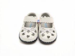 Topánky Srdiečka - biela - Freycoo
