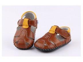 Sandálky - hnedá - Freycoo