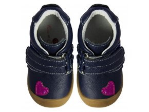 Hearts Navy - Rose et Chocolat