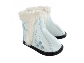 Karsyn Blue Snowflake Boot - Jack and Lily