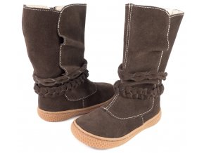 Calliope Mocha Suede - Livie and Luca