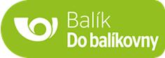 Logo Česká pošta - Balík do balíkovny