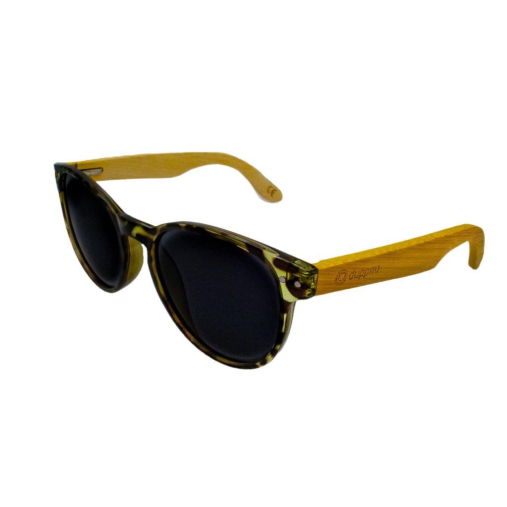 Dřevěné sluneční brýle Duppau Leo