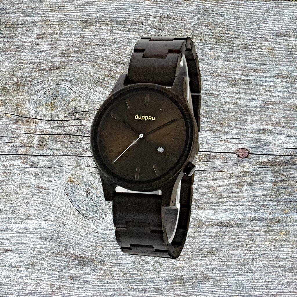 Dřevěné hodinky Duppau Kenai