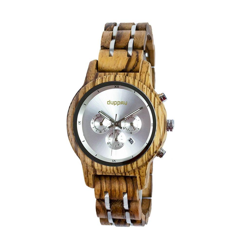 Dřevěné hodinky Duppau Nejma