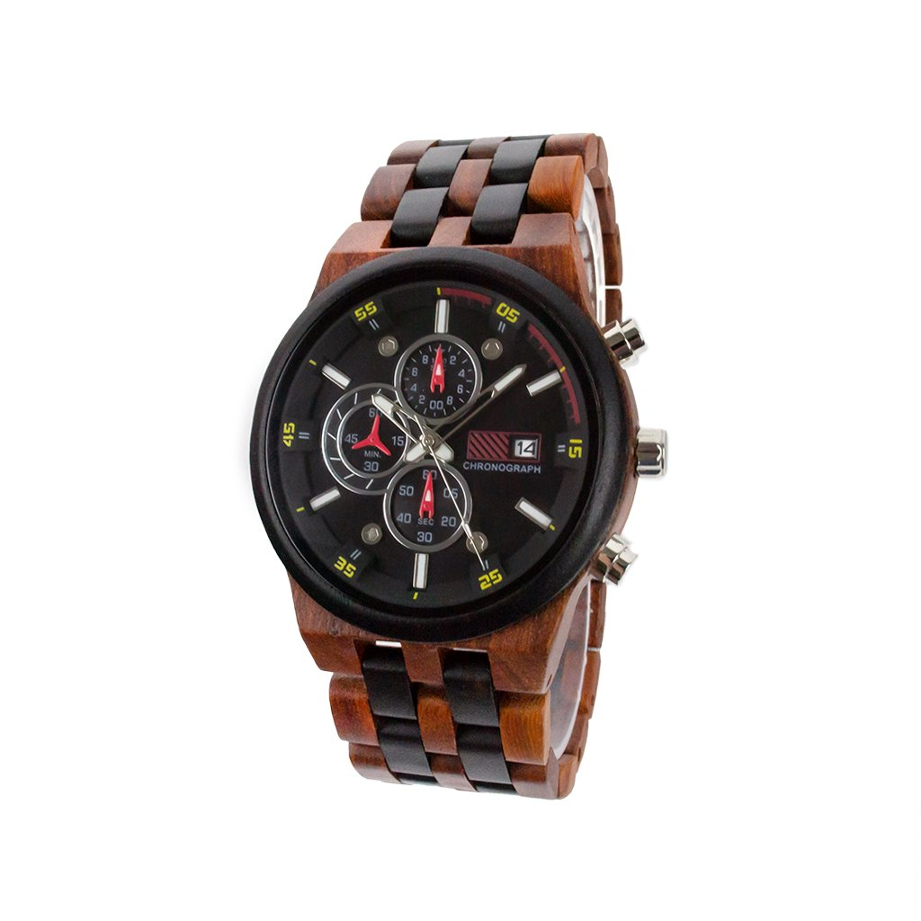 Dřevěné hodinky Duppau Nessos s jedinečným designem