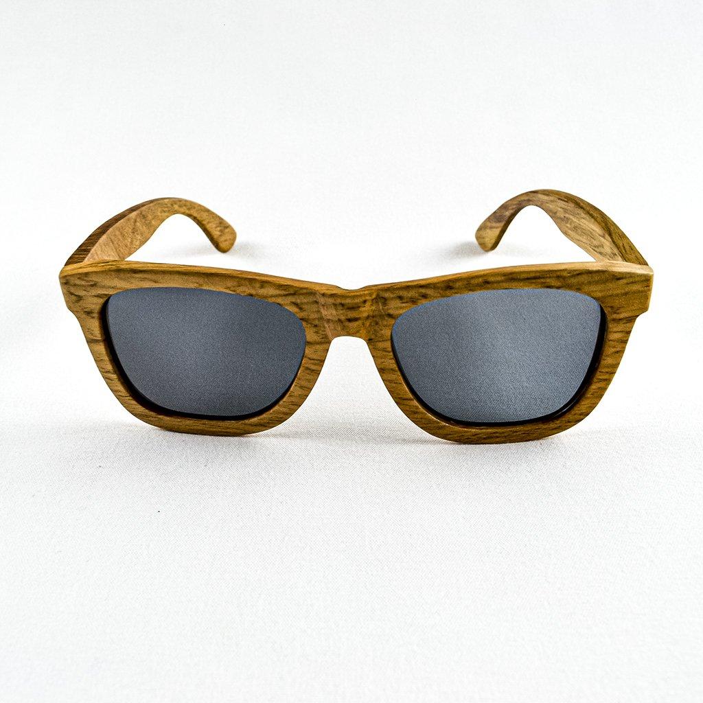 Dřevěné sluneční brýle s polarizačním filtrem - Duppau Du Grey