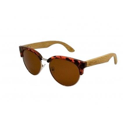 Dřevěné sluneční brýle Duppau Turtle