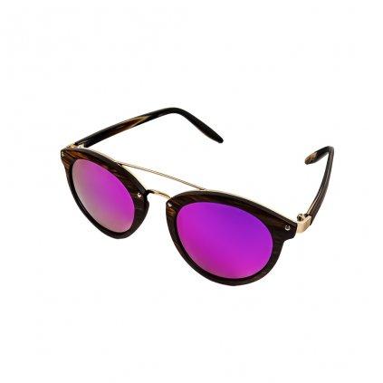 Dřevěné sluneční brýle Duppau Rose