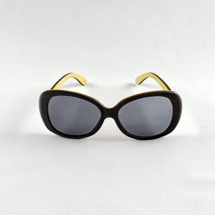 Dřevěné sluneční brýle - Duppau Black Ebony