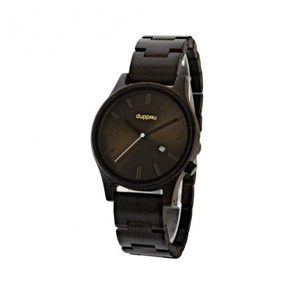 Dřevěné hodinky Duppau Kenai pro muže