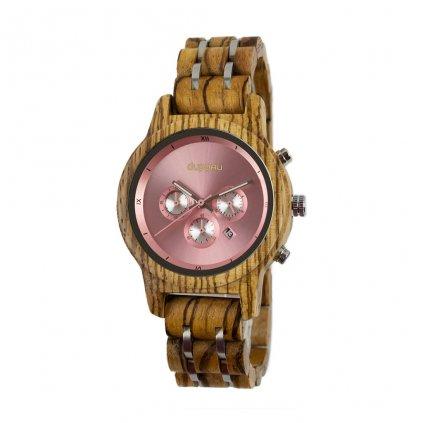 Dámské dřevěné hodinky Duppau Linnea