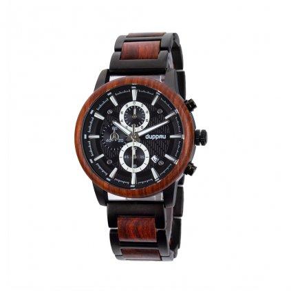 Dřevěné hodinky Duppau Kepa s jedinečným designem