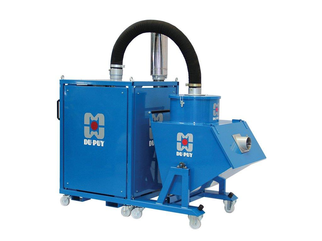 3735 aspiratore industriale b80 benna trifase dupuy