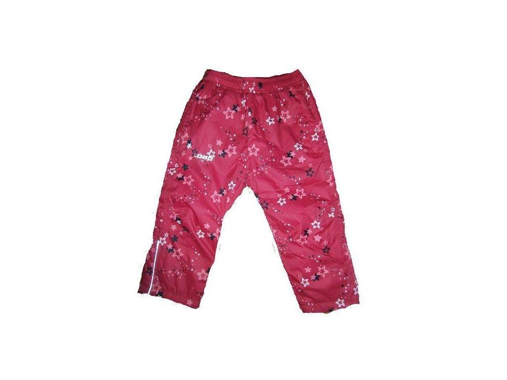 ee3ac2797 LOAP AROL dětské zimní kalhoty růžové kytky