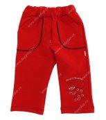 Tepláčky DANY červené WHS 3122