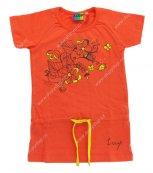 Dívčí triko LOAP ZEJLA L3023 oranžové