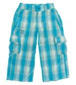 Dětské kalhoty LOAP - KINT 3035 modré kostka