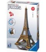 Eiffelova věž Puzzle 3D 216 dílků
