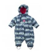 G-mini Zimní kojenecký overal Bill K4201 - černý