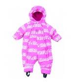 G-mini Zimní kojenecký overal Bill K4201 - růžový