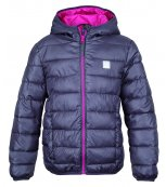 Zimní dětská bunda LOAP L4208 - BERNICE šedá