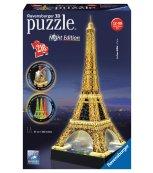 Eiffelova věž Puzzle (Noční edice)   3D  216d