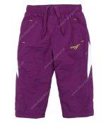 Kalhoty s fleesovou podšívkou WOLF B2471 fialové