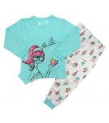 Dívčí pyžamo WOLF S2465 tyrkysové