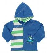 Kojenecký kabátek EWA CITY modrý
