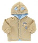 Kabátek s kapucí EWA - KITTY - modrý