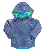 Dětská softshellová bunda KUGO S2611 modrá