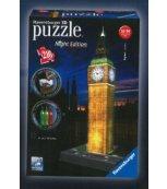 Big Ben Puzzle Noční Edice 3D 216d